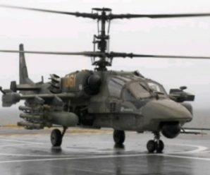 Вертолет КА-50 — ЧЕРНАЯ АКУЛА