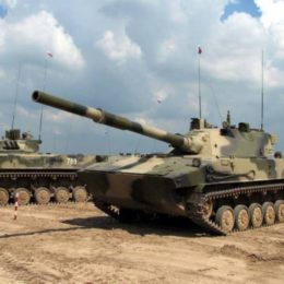 Огненный Спрут — танк Спрут-СД