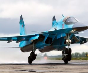 Самолет СУ-24/Су-34 — утиная охота