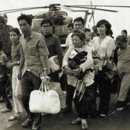 Последние дни во Вьетнаме — эвакуация американских граждан
