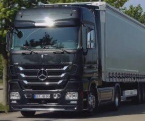 Грузовики Mercedes-Benz — мощные и габаритные