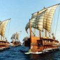 Флот древности. Древние корабли и судостроение