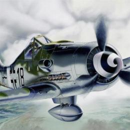 Истребитель Фокке-Вульф FW 190